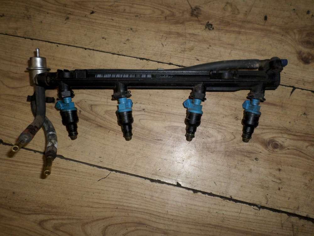 Original Ford KA BJ 1997 Einspritzleiste mit Düsen 95BF9J280CE