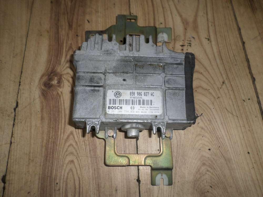VW Polo 6N Bj:97 Steuergerät Motor Motorsteuergerät 030906027