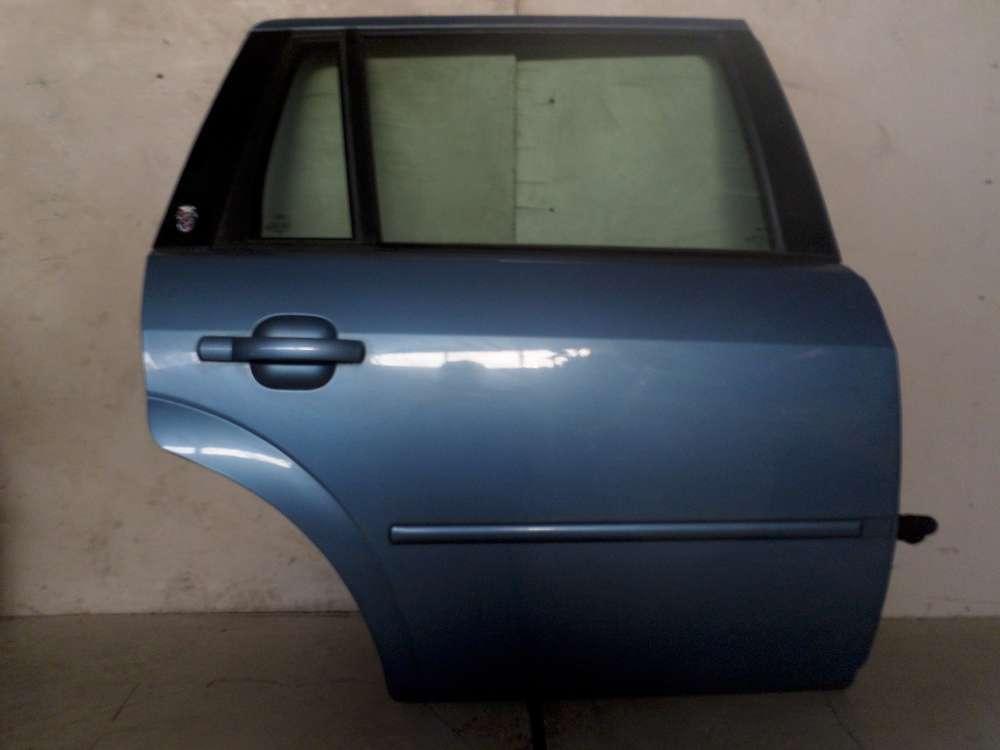 Ford Mondeo Kompi  4/5 Tür Fahrertür Hinten Rechts HR Karibikblau
