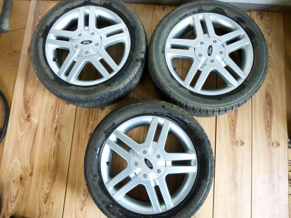 3x Sommerreifen Alufelgen für Ford Focus 6Jx16 ET:52,5  205 / 50 R16 87 V 4 Loch