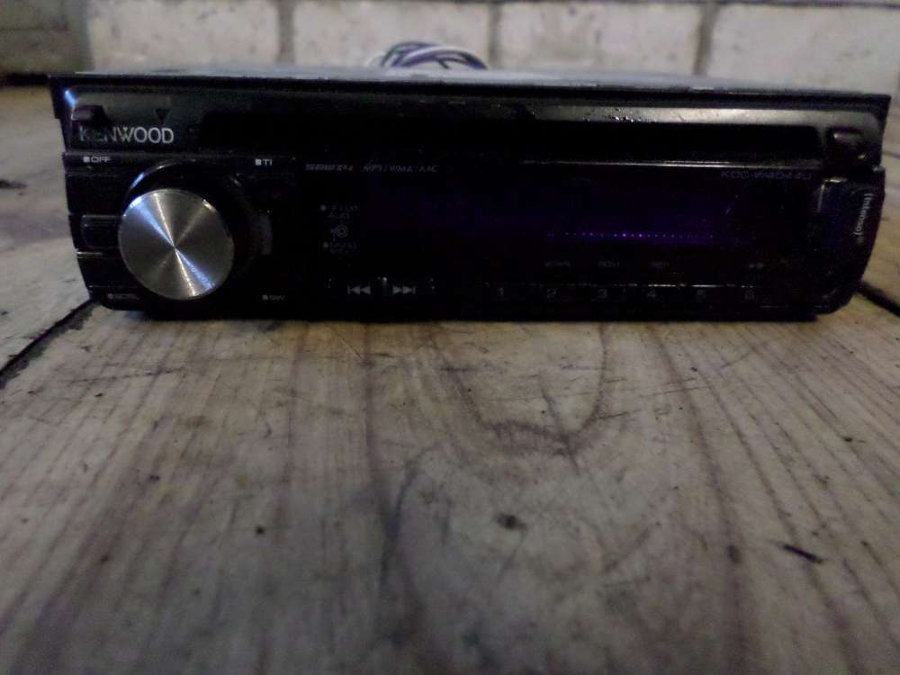 VW Golf 4 Bj:99 KENWOOD Radio KE1535X1010927