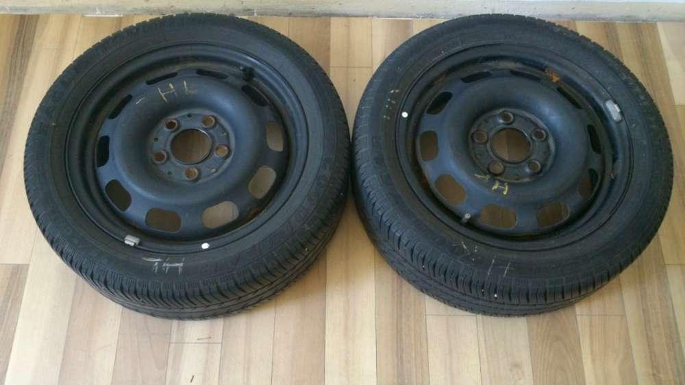 2x Sommerreifen 5,5Jx15H2 ET54 für Mercedes A-Klasse 195/50 R15 82H,  ME515036 .