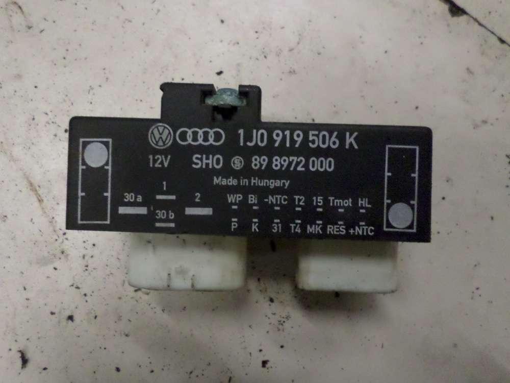 VW Golf 4, Seat Leon Lüftersteuergerät Steuergerät Lüfter 1J0919506K