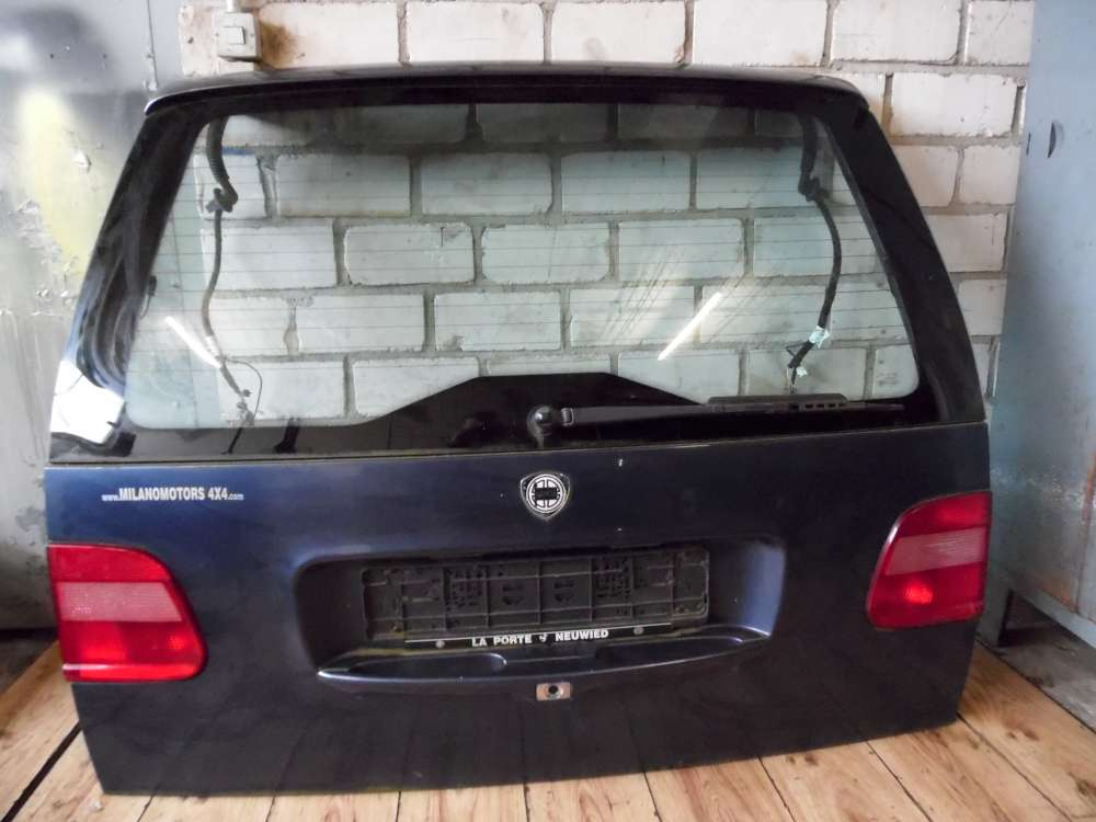 Lancia Zeta Bj 2000 Kofferraumklappe Heckklappe Blau
