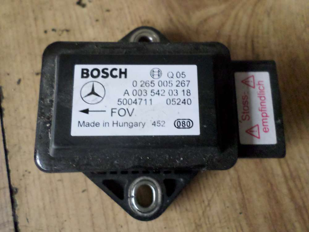 Mercedes A150 Bj 2005 Drehratensensor Bosch 0265005267 0035420318