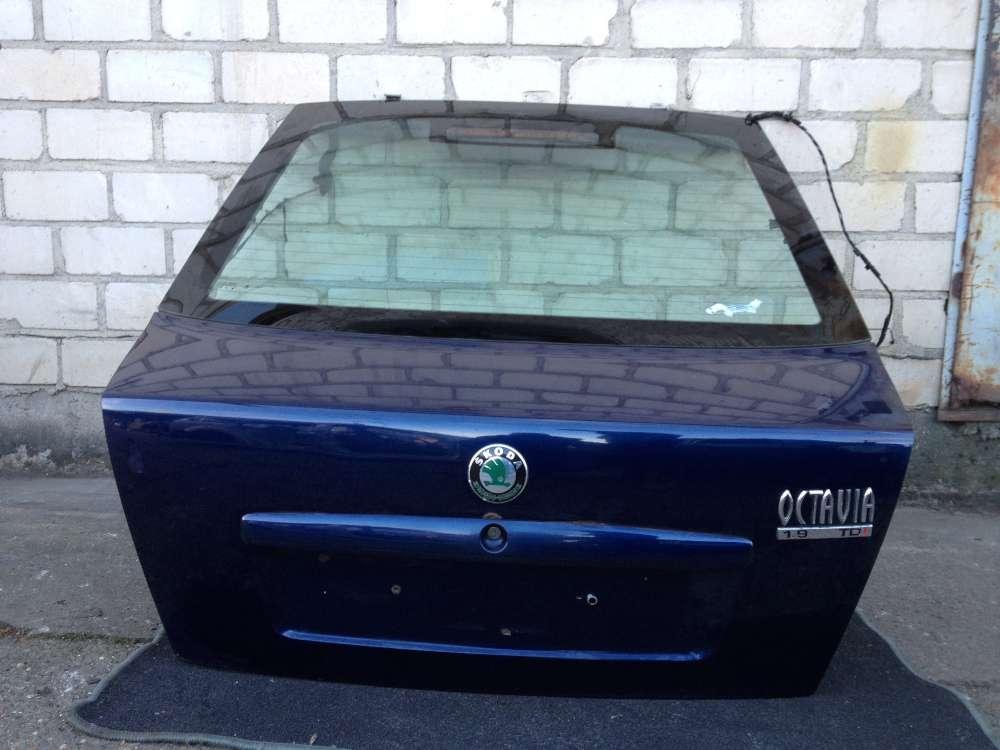 Skoda Octavia 1U2 1.9 TDI Original Kofferraumklappe Heckklappe Blau