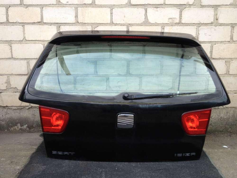 Seat Ibiza III 6K von 1999 bis 2002 Heckklappe Farbe : Schwarz