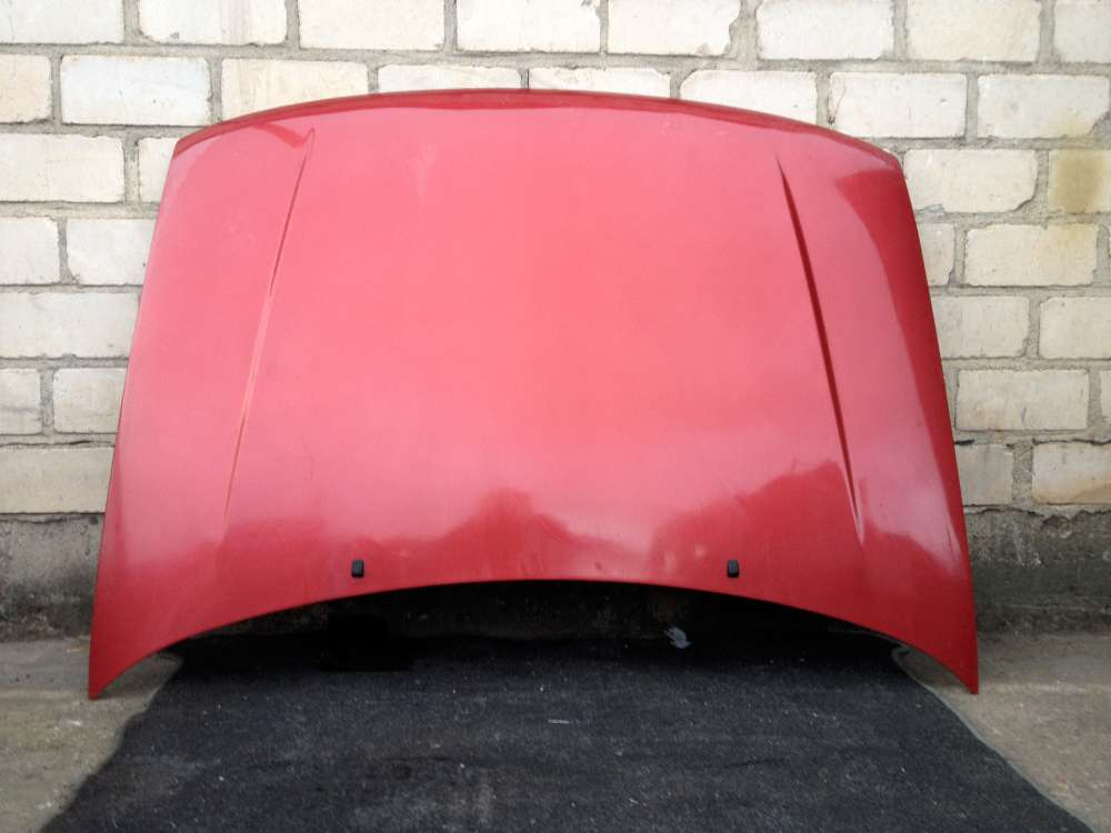 VW Polo 6N1 Bj 1997 Motorhaube Farbe: Rot