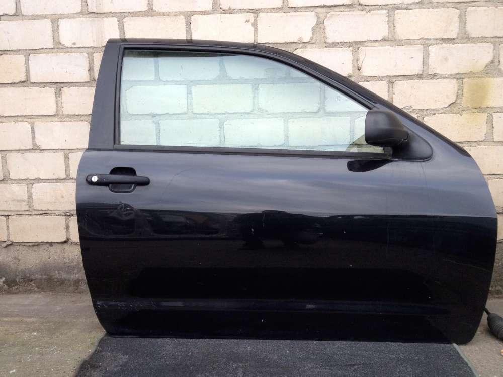 Seat Ibiza 6K1 3-Türen Beifahrertür Tür Vorne Rechts Farbe: Schwarz