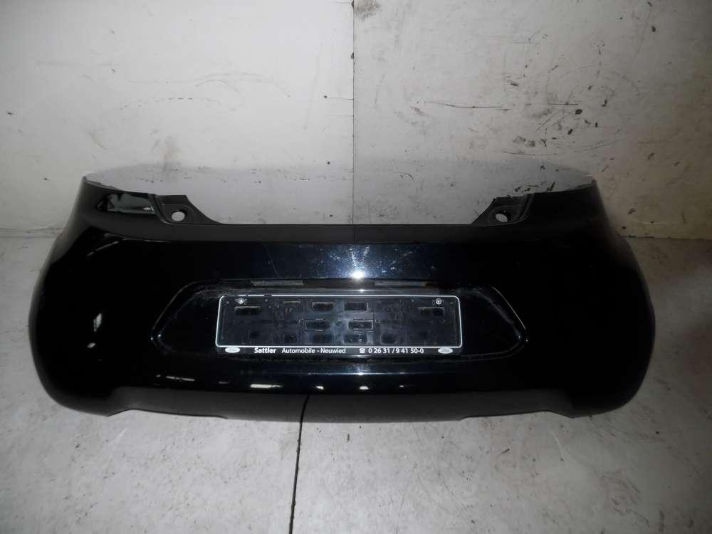 Ford KA Bj 2010  3-Türen Stoßstange hinten 735435551 Farbcode Schwarz 90