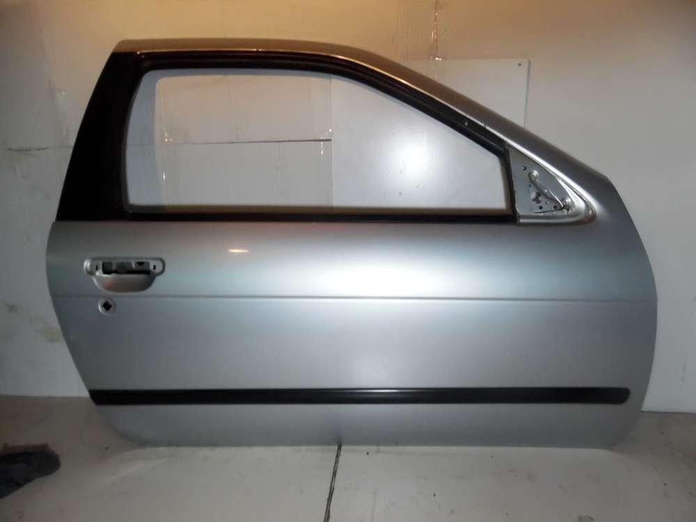 Nissan Almera N15 3-Türen Tür Vorne Rechts Farbe: Silber