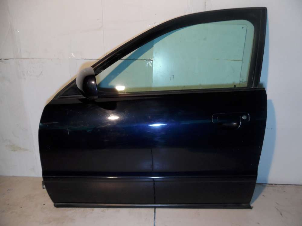 Audi A4 8D2 B5 Fahrertür Tür vorne Links Farbe: Dunkelblau