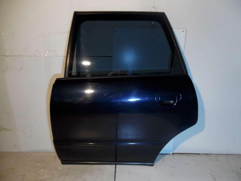 Audi A4 B5 Bj 1998 Kombi 5-Türen Tür hinten links Dunkelblau