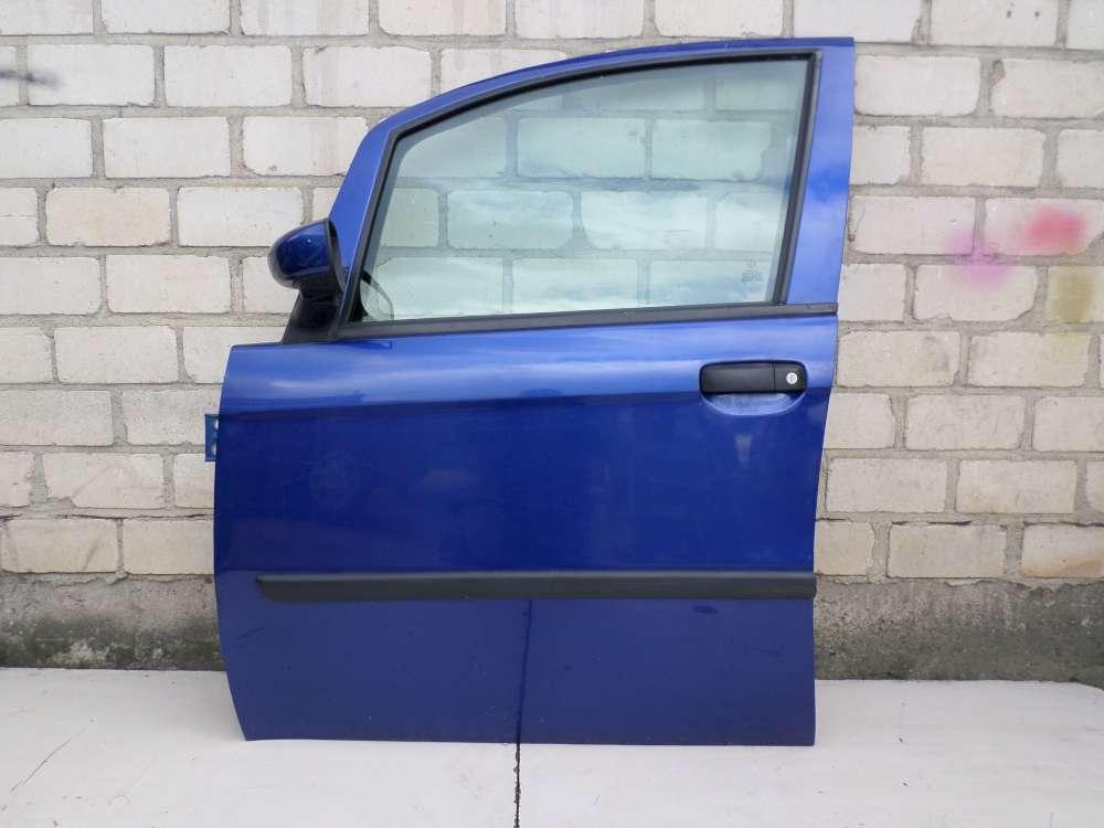 Fiat Idea Bj 2008 Fahrertür Tür vorne links Blau Lackcode: 599