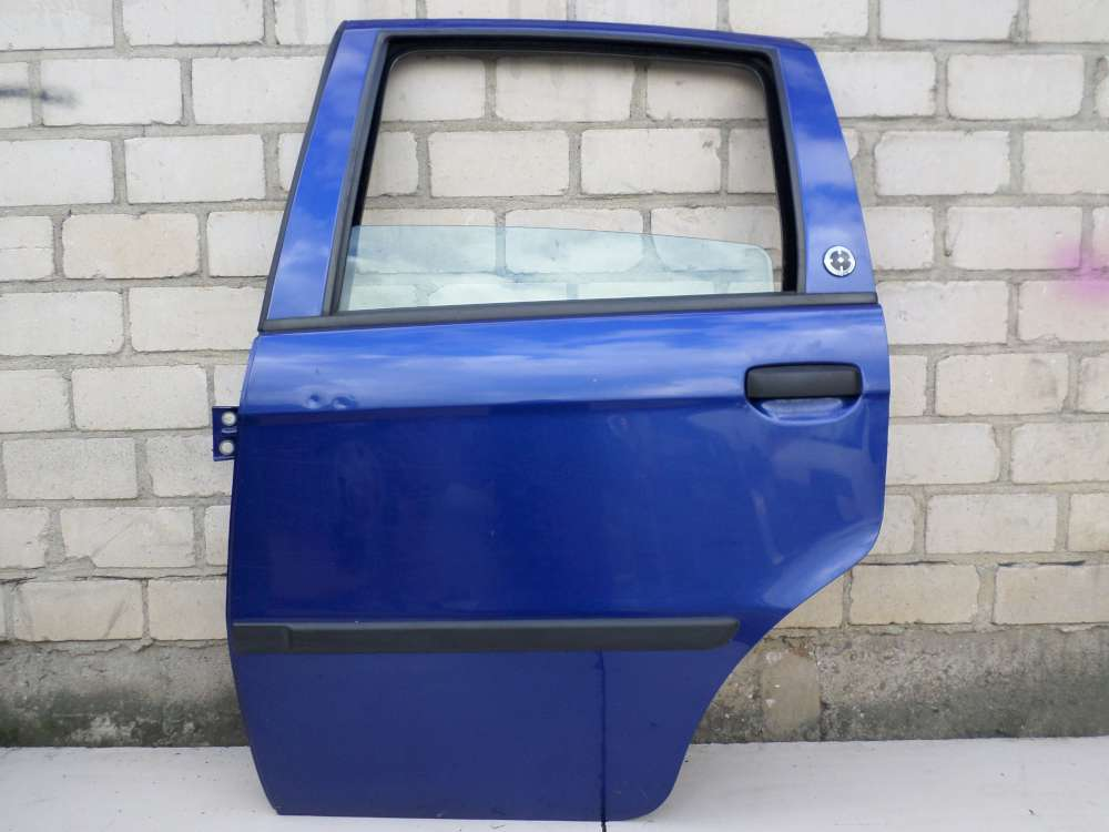 Fiat Idea Tür Hinten Links Blau Lackcode: 599