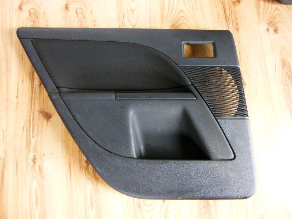 FORD Mondeo 3 III Türverkleidung Türpappe schwarz hinten links HL 4S7X F27503