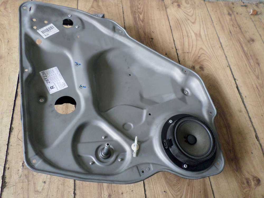 Mercedes A150 Bj 2005 Fensterheber Tafel Türblech mit lautsprecher Hinten Rechts 1697300279