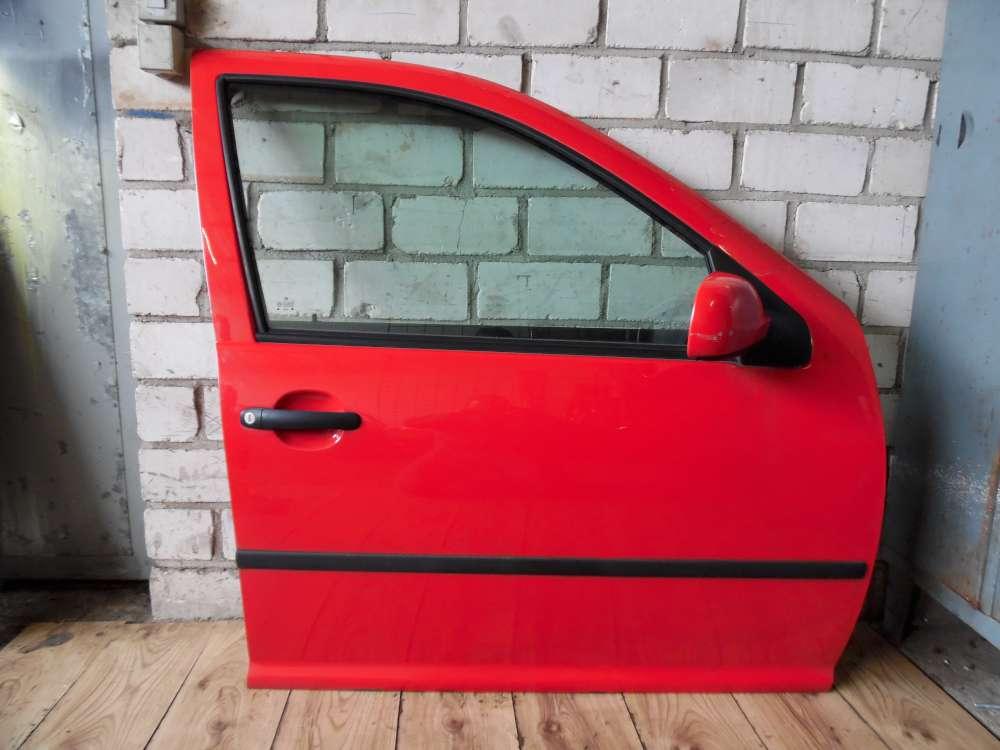Golf 4 IV 1J1 Limousine 5-türen Beifahrertür Tür vorne rechts Rot Farbcode: LP3G