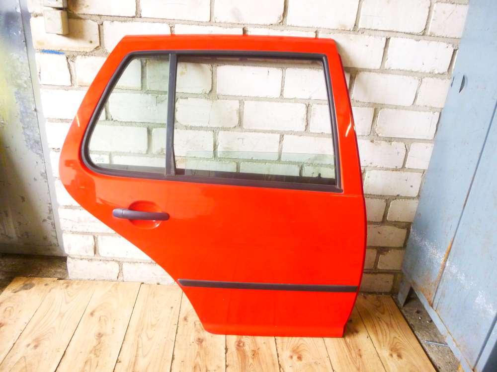 VW Golf 4 1J1 Limousine 5-türen Tür Hinten Rechts Rot Farbcode: LP3G