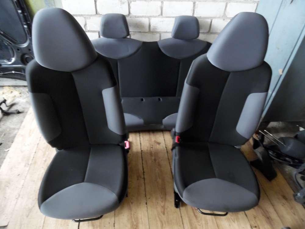 Peugeot 107 Toyota Aygo Citroen C1 5tür Sitze Sitz Vorne und Hinten Komplett Aus