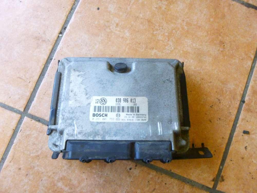 VW Golf 4 Original Motorsteuergerät Steuergerät Motor 038906013