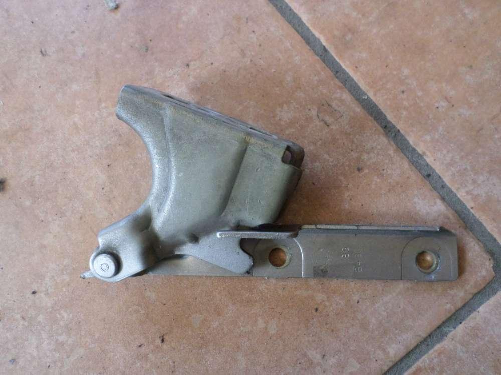 Fiat Punto 176 Motorhaube Scharnier Motorhaubenscharnier Gelenk links Silber
