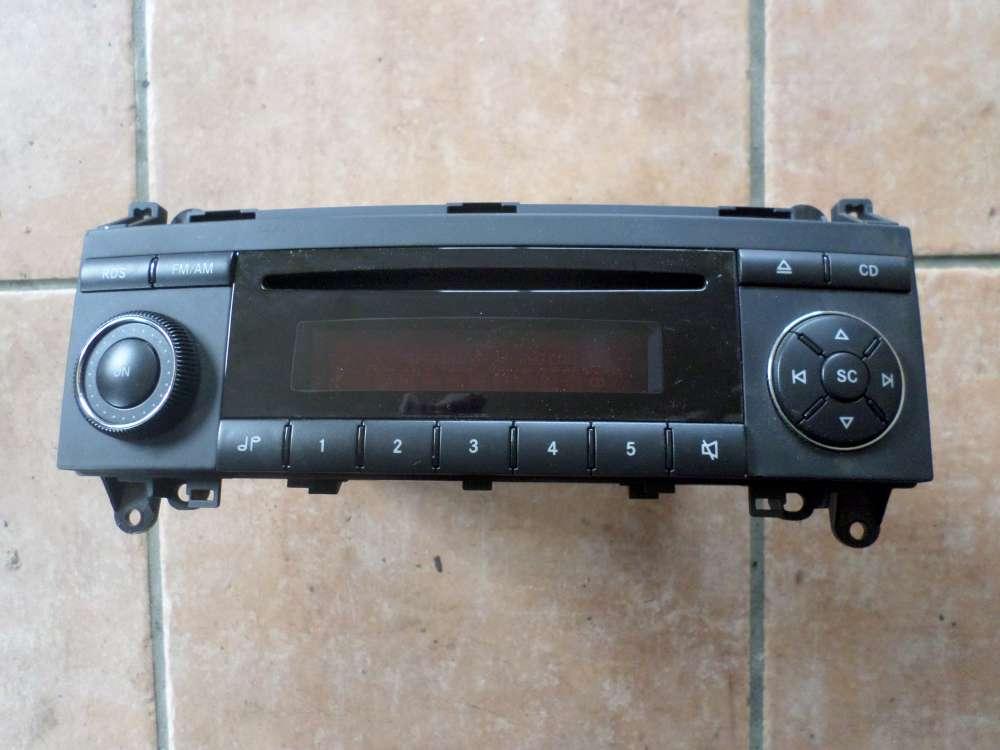 Mercedes-Benz W169 A150 Radio CD A1698200086