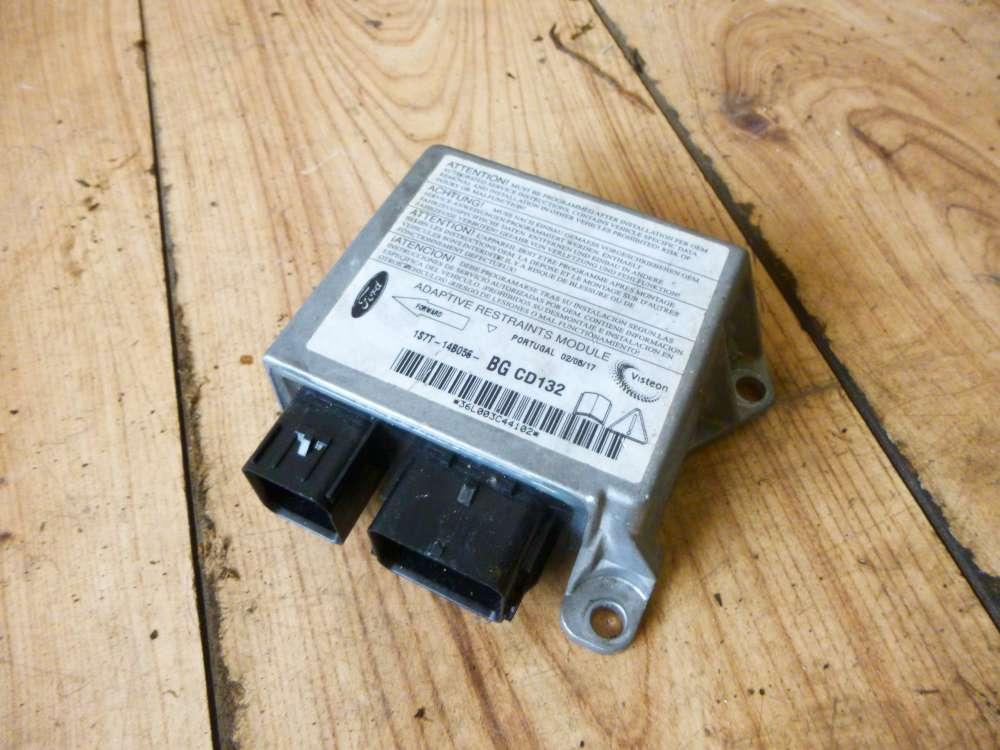 Ford Mondeo 3 Kombi Steuergerät Airbag Airbagsteuergerät 1S7T14B056
