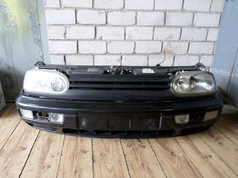 Stoßstange vorne VW Golf 3 III Schwarz LC9Z