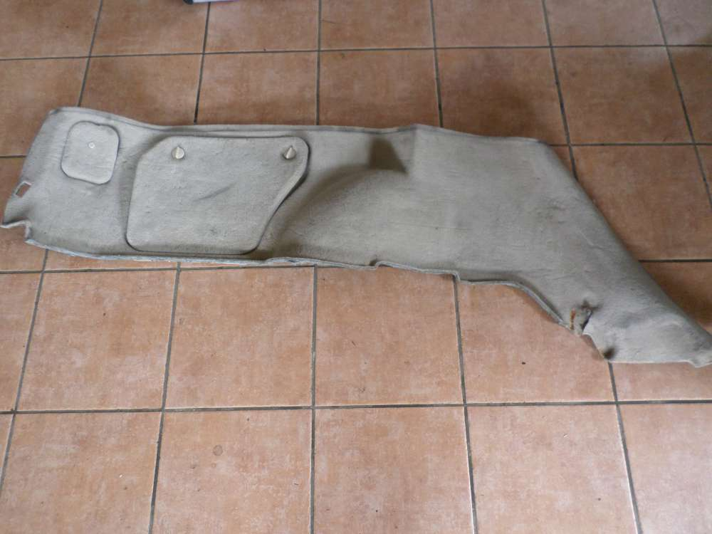 Ford Mondeo BWY Bj 2002 Innenraum Teppich hinten Links