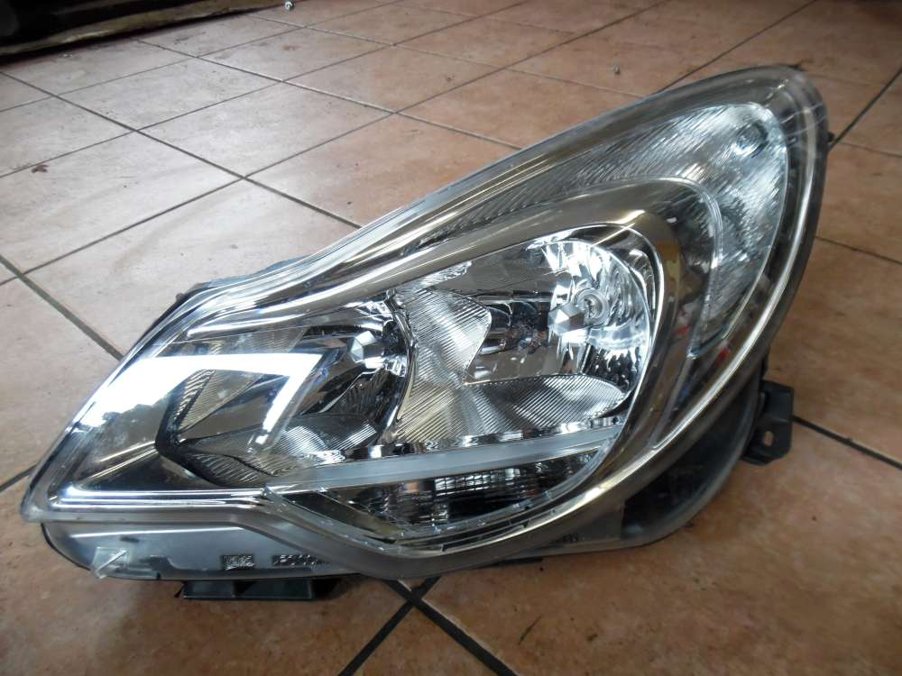 Opel Corsa D Scheinwerfer Links 13392705  90020215