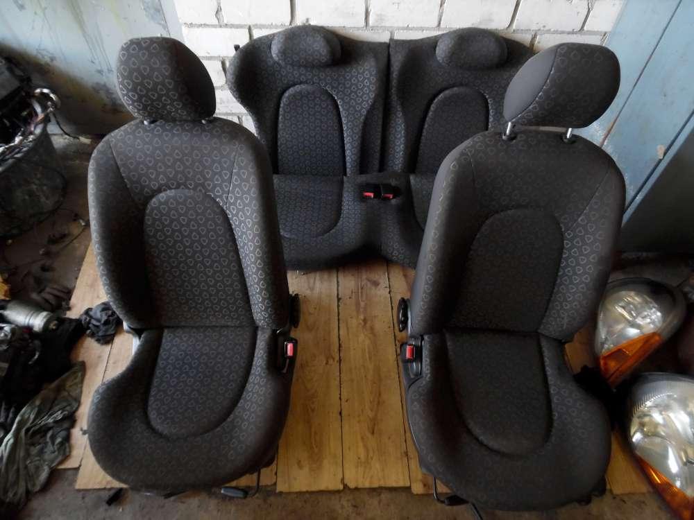 Ford KA  Bj 96 Sitze  fahrersitz mit Airbag Beifahrersitz Rücksitzbank Komplett 3 Türer