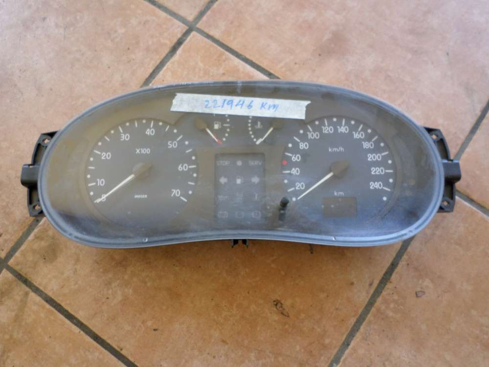 Renault Kangoo Bj 2001 Kombiinstrument Tachometer Tacho 0904 308 0096