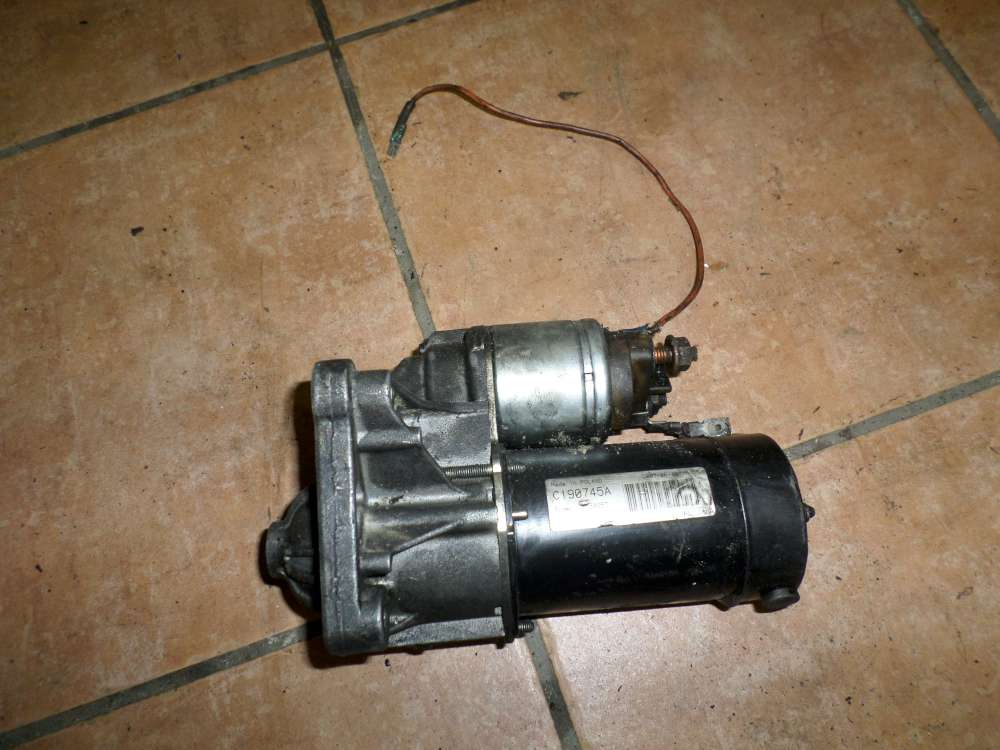 Renault Kangoo Original Anlasser Starter D6RA115