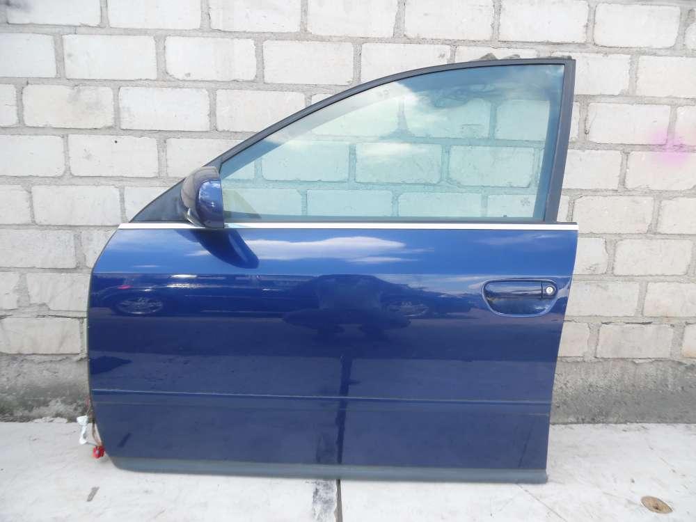 Audi A6 4B Kombi Fahrertür Tür vorne Links Blau Farbcode: LZ5K