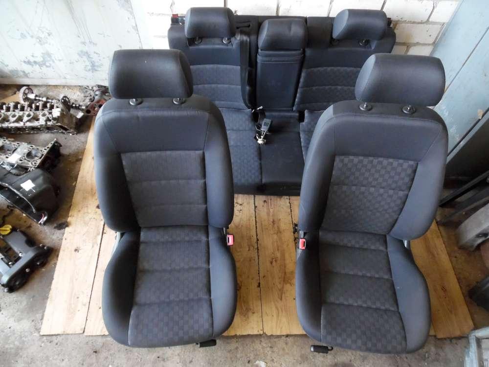 Audi A6 Sitze Fahrersizt-Beifahrersitz Rücksitzbank Komplett