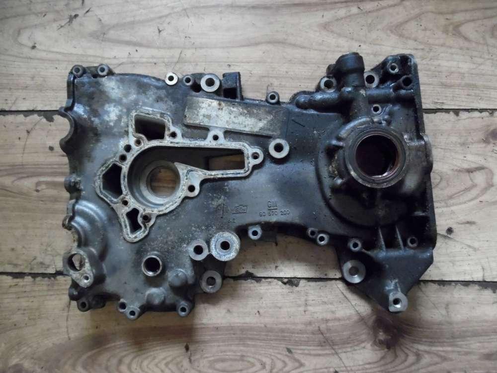 Opel Corsa B Stirndeckel Stirnwanddeckel Gehäusedeckel 90570200