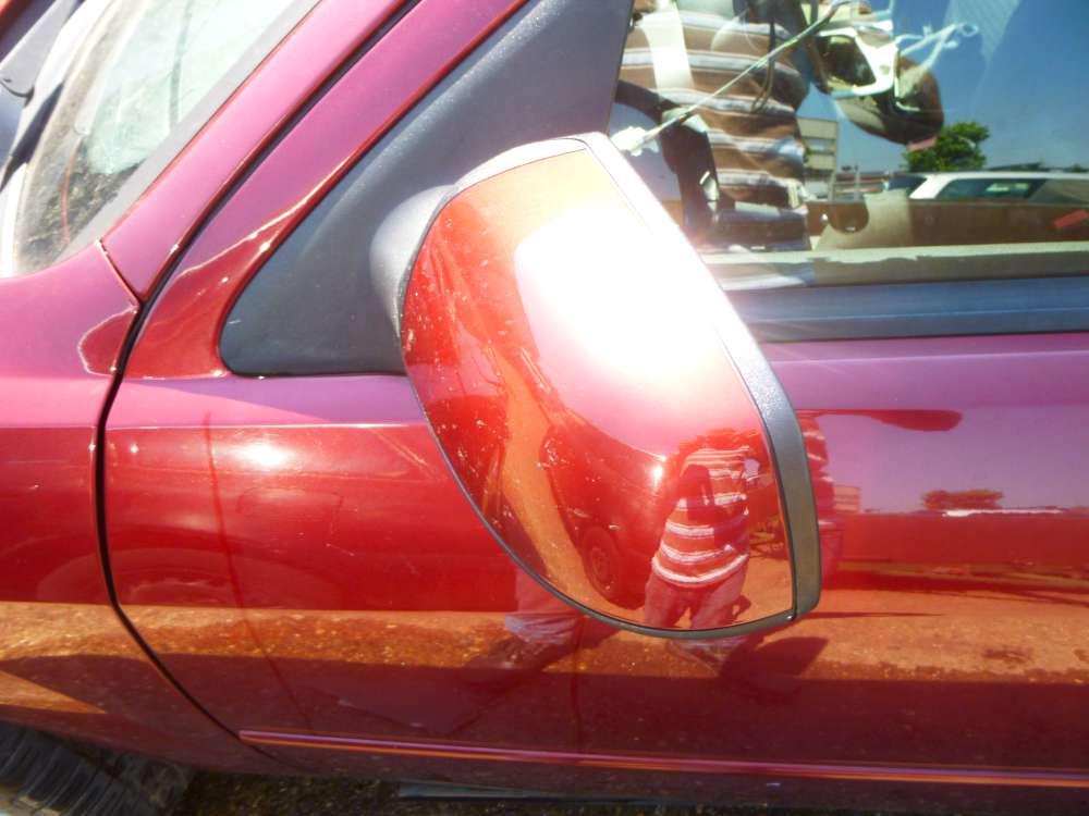 Ford Mondeo III Kombi  TDCi BWY Seitenspiegel Spiegel Seite vorne Links farbe Rot I3