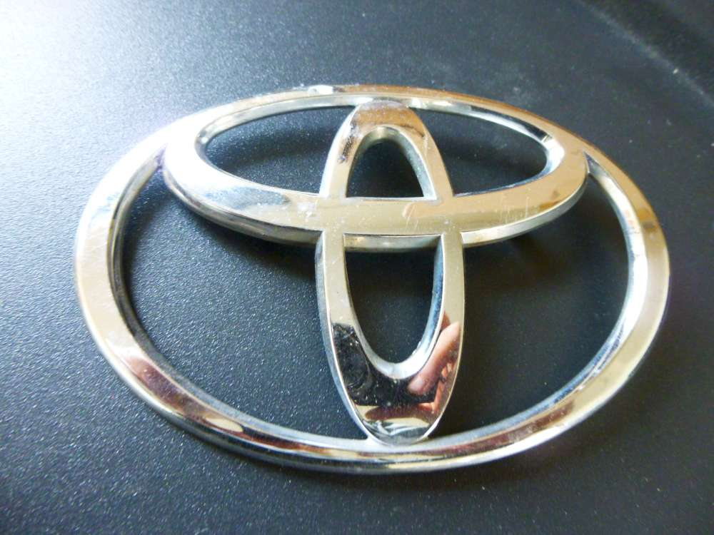 Toyota Emblem Chrom Abdeckung Zeichen Abzeichen