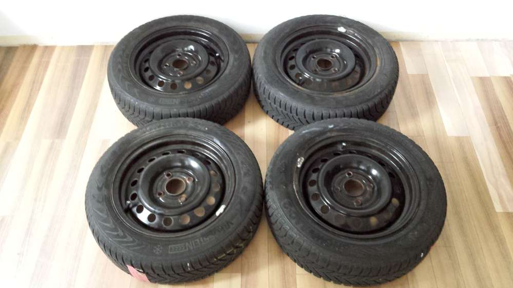 Winterreifen Stahlfelgen Für Nissan Almera N16 185/65 R15 88t 15x6J ET45 KBA43737