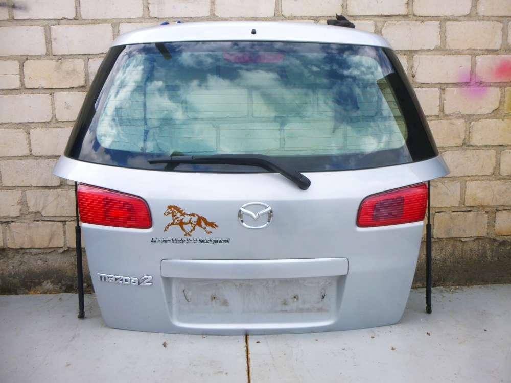 Heckklappe Heckdeckel Mazda 2 (DY) 1.4 Grau 12R Limousine, 4Türig