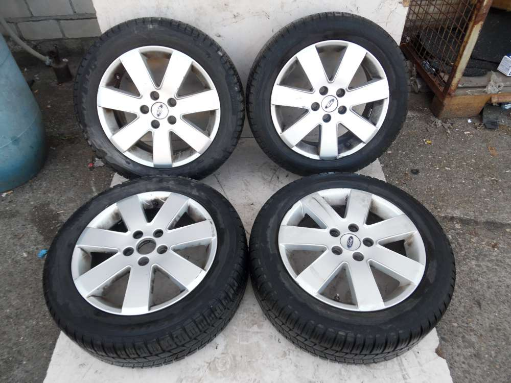 4x Alufelgen 6.5Jx16H2  Et 52.5 Ford Monde 3 Kombi Winterreifen 205/ 55 R16 91 H