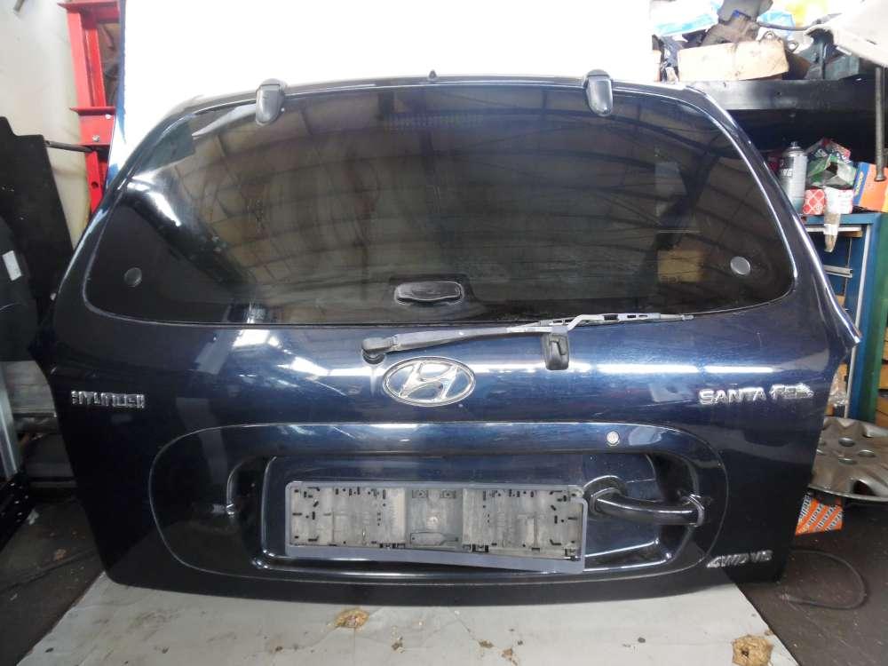 Hyundai Santa Fe Bj 2004 Kofferraumklappe Heckklappe Farbcode: LA6P