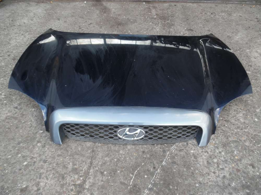 Hyundai Santa Fe Motorhaube Schwartz Farbcode: LA6P