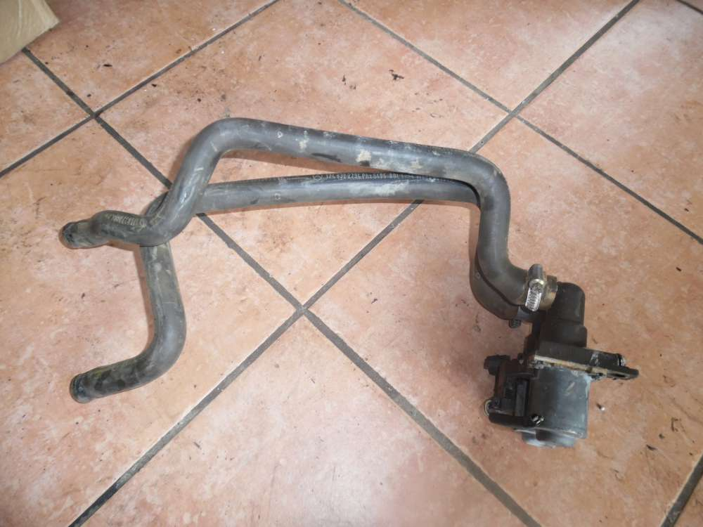 Mercedes W124 Original Heizungsduoventil mit 2x Kühlwasserschläuche 1147412015