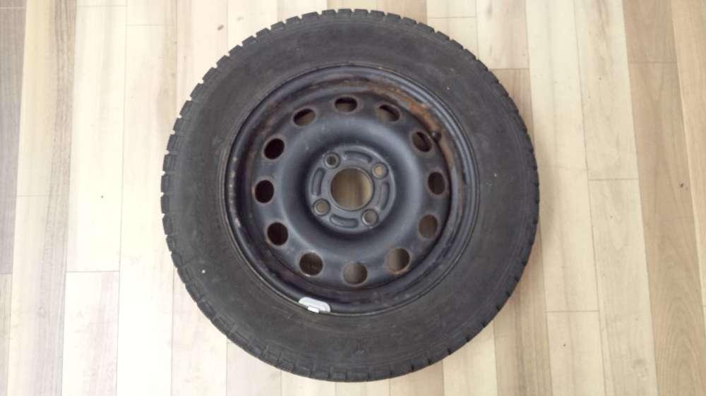 1 x Winterreifen Stahlfelgen Für Ford Focus  5.5Jx14H2  ET: 47.5  185/65 R14 86T