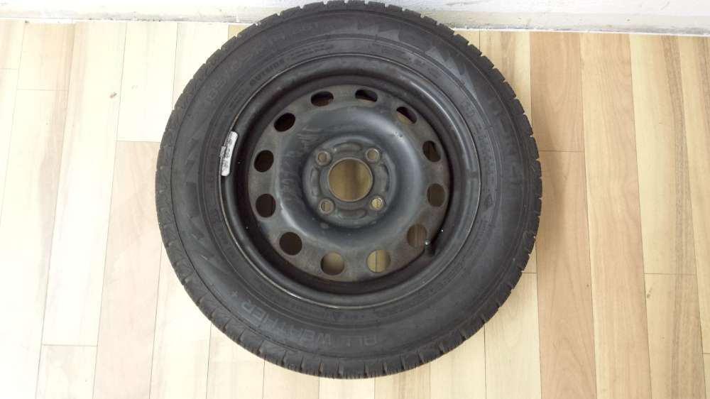 1 x Allwetterreife Stahlfelge Für Ford Focus 5.5Jx14H2 ET: 47.5 185/65 R14 86T