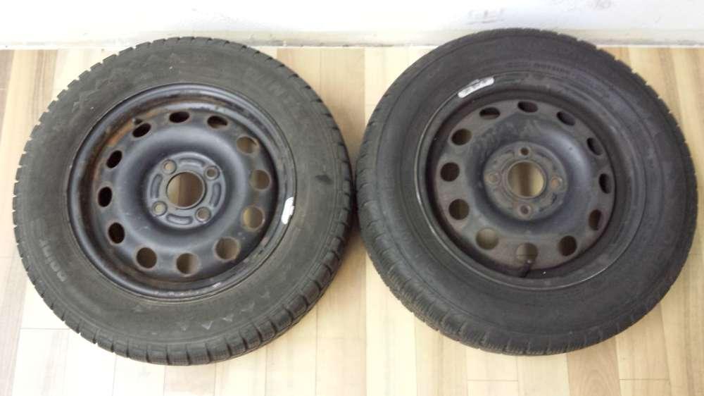 2 x Stahlfelgen Für Ford Focus  5.5Jx14H2  ET: 47.5  185/65 R14 86T  4Loch