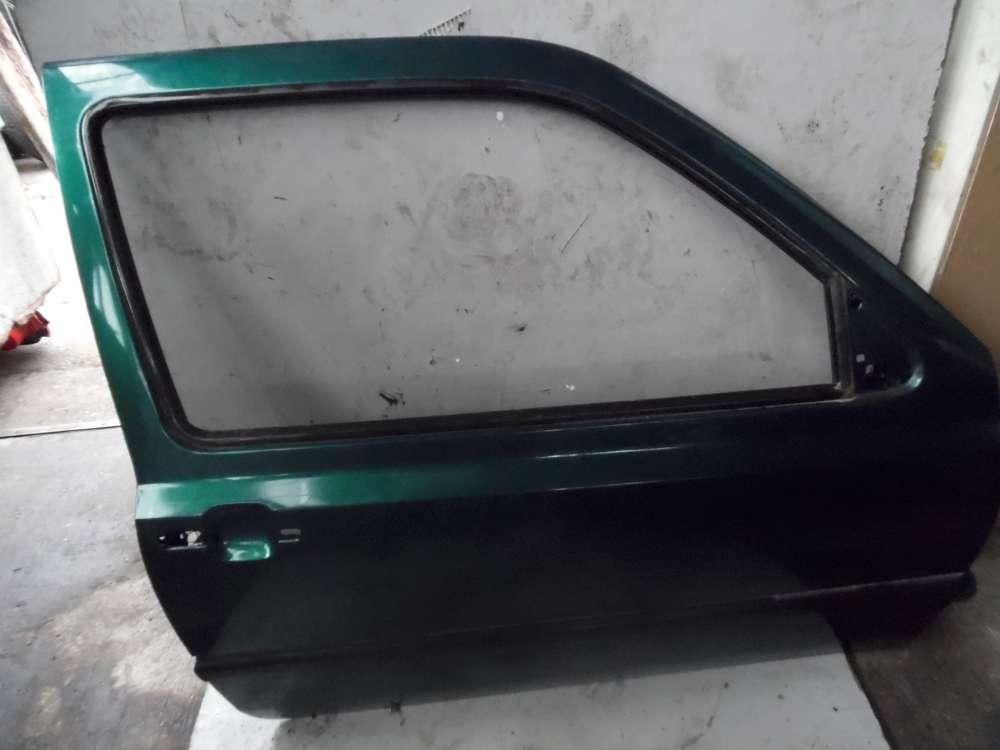 VW Golf 3 ab 91 bis 97 3Türen Beifahrertür Tür Vorne Rechts Grün Farbcode: LC6V