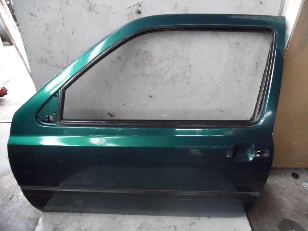 VW Golf 3 ab 1991 bis 1997 3Türen Fahrertür Tür Vorne Links Grün Farbcode: LC6V